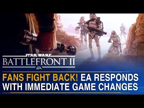 FANS FIGHT BACK! EA Responds with Immediate Game Change | Battlefront Update