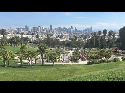 Mission Dolores Park - San Francisco, California, USA
