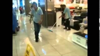 Flood at Sembawang Shopping Centre