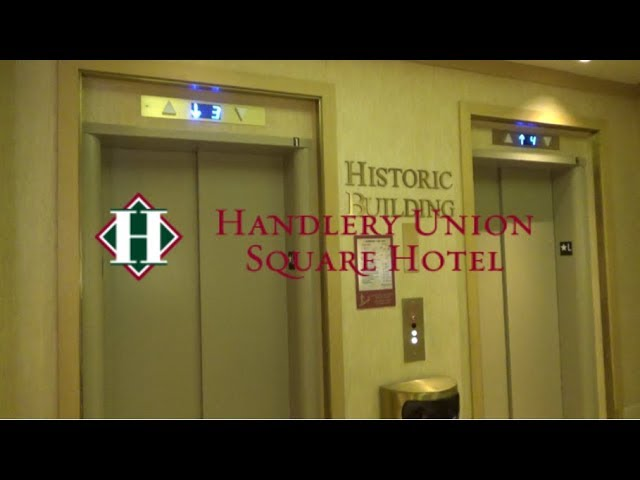 Kruppy Modded OTIS Traction Elevators-Handlery Union Square Hotel-San Francisco, CA