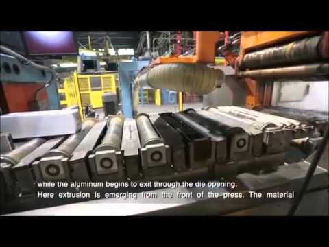 Sandhurr - Casting and Extrusion Process - Sapa Extrusions