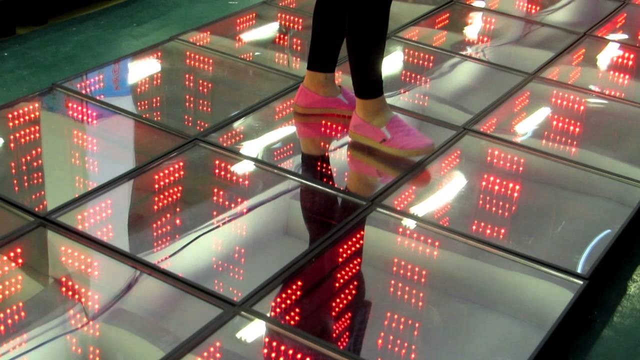 D Colorful Magic Mirror LED Dance Floor YouTube - Led dance floor for sale usa