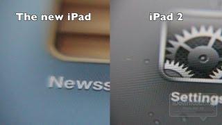The new iPad (3rd generation) vs iPad 2 Pixel Density Test