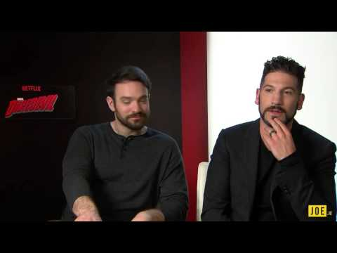 Daredevil stars Charlie Cox & Jon Bernthal chat to JOE about