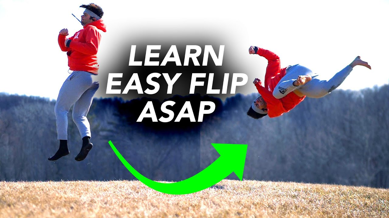 Learn The Awesome Front Twist Flip Easy – Turn a 360 into A-Twist