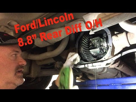 "Ford Lincoln 8.8"" Rear Differential Overhaul"