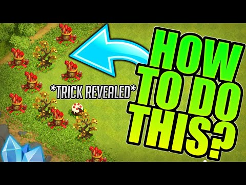 HOW TO FARM SPECIAL OBSTACLES AT ONE PLACE! CLASH OF CLANS•FUTURE T18