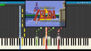 zelda a link to the past overworld theme synthesia