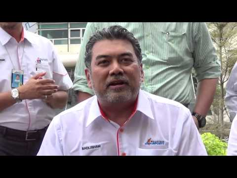 #MAHB MD, Datuk Badlisham Ghazali's #icebucketchallenge #ALS .