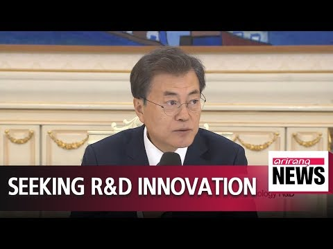 President Moon pushes for innovation in nation's science and technology R&D sector
