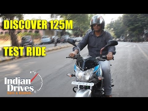 Bajaj Discover 125M Test ride