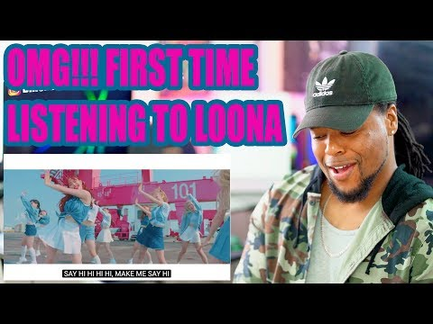 LOONA 'Hi High' MV 이달의 소녀 | First Time Reacting to LOONA!!! reaction