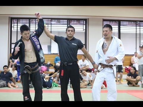 阪上亮介 vs 中村啓介  / Jiu Jitsu Priest CUP 2014 GIFU