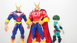 Mcfarlane Toys My Hero Academia SILVER AGE ALL MIGHT Figure Review