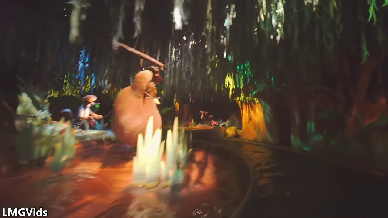 Splash Mountain Princess And The Frog Edition Youtube