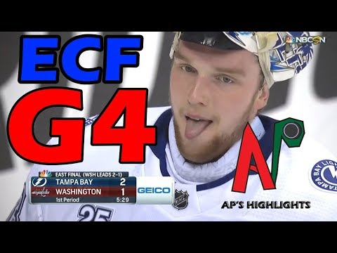 Tampa Bay Lightning vs Washington Capitals – May. 17, 2018 | Game 4 | Stanley Cup 2018. (HD)