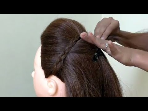 Repeat Juda Hairstyle With Using Bangle Easy 2 Minute Bun