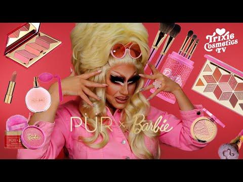 Trixie Reviews The PUR x Barbie Collection - Trixie Mattel