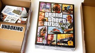 Gra Grand Theft Auto V (GTA V) PC - Polski Unboxing - 1080p