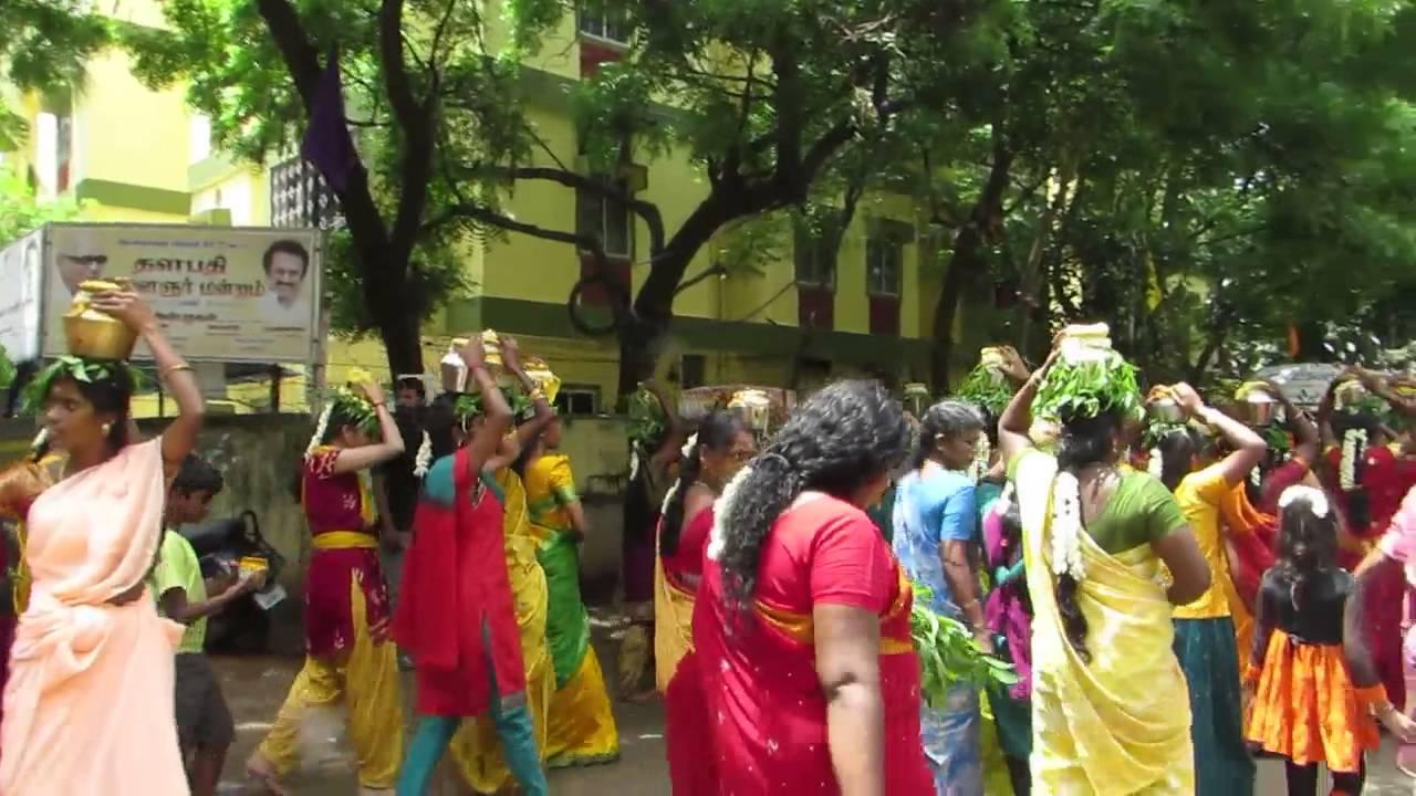 Ashok Nagar Amman Kovil 108 Paal Kudam Youtube
