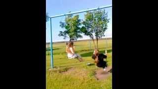Лиля и Саша в Аэрограде
