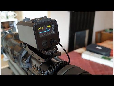 Scope-mounted Laser Rangefinder From Custom RifleScopes.com