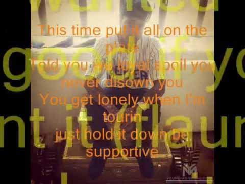 For the road- Tyga Ft Chris Brown lyrics+ Audio