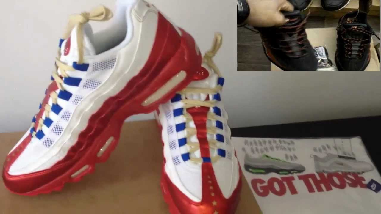 092fdc227702ce Nike Air Max 95 Doernbecher LE DB 2011 - YouTube
