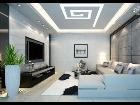 High Ceiling Ideas For Living Room False Double Vaulted Diy Led Decorating Design On A Budget 2019 Youtube