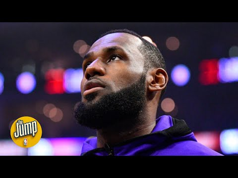 LeBron James Is Among The NBA Players Speaking Out About The Death Of George Floyd | The Jump