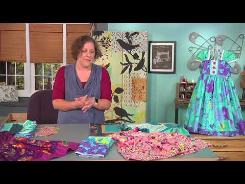 Creating a little girl's dress on It's Sew Easy with Jessica Stewart (1410-3)