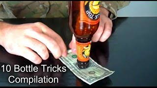 10 Bottle Tricks Compilation