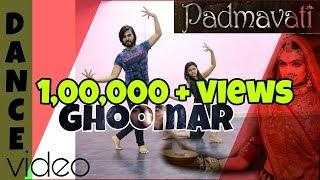 Padmavati | Ghoomar Song | Dance cover | Deepika Padukone| Shahid Kapoor| Ranveer Singh|