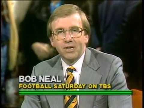 Football Saturday on TBS 1982