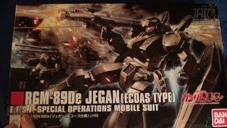 hguc 123 rgm 89de jegan ecoas type unboxing and review
