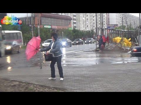 В Архангельске сохраняется штормовая погода