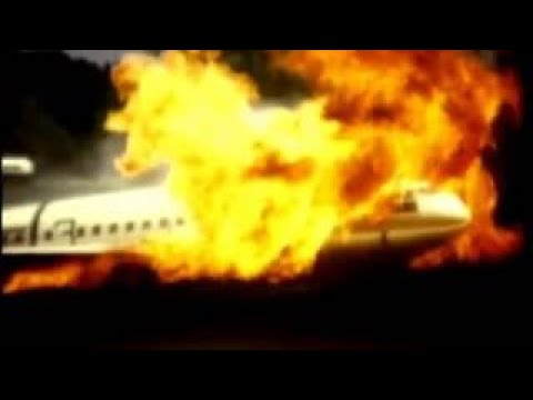 NACA Crash Fire Research National advisory committee for aeronautics and Lewis Flight Prop
