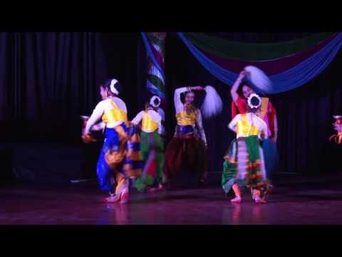 Pujarini -- A Dance Drama, Choreography by Sonali Ghosh