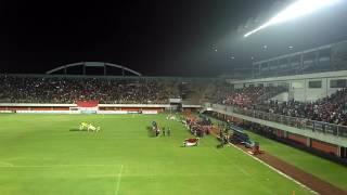 Kemeriahan Stadion Maguwoharjo Sleman, Indonesia vs Puerto Rico #indonesiaraya