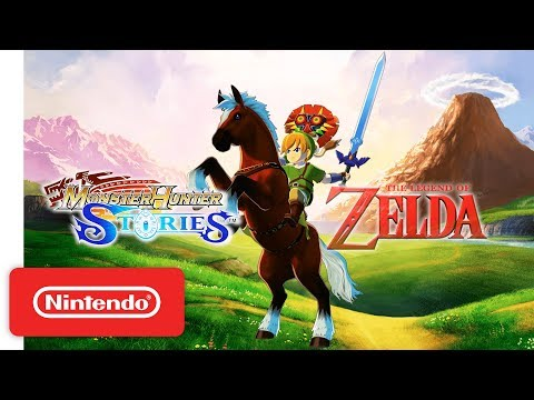 Monster Hunter Stories - The Legend of Zelda DLC - Nintendo 3DS