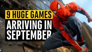 9 New Games Arriving In September 2018 (What should I Buy?)