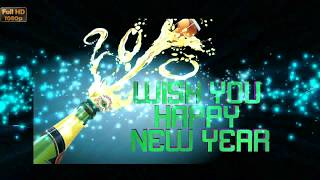 Happy New Year Greetings Whatsapp Animation Wallpaper Free Download New Year Wishes 2019