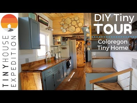 Young Family's Exquisite Handcrafted Tiny House with Creative Design Ideas