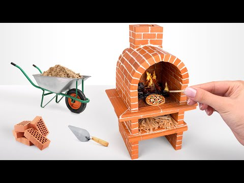DIY Mini Brick Oven For Mini Pizzas