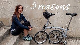 My Week With a Brompton & 5 Reasons to Commute by Bike   #TeamRutland sponsored