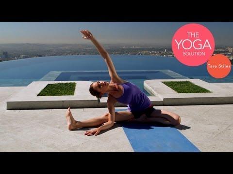 5-Minute Flexibility Yoga Routine   The Yoga Solution With Tara Stiles