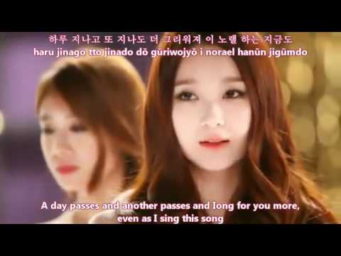 [MV HD] T-Ara with Davichi - We were in love [english subs romanization hangul]