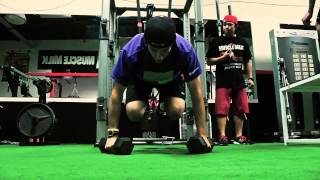Charles Dao, Icon Sports Performance, let us film a typical afterno...
