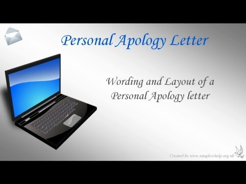 How to write an apology letter to your boss