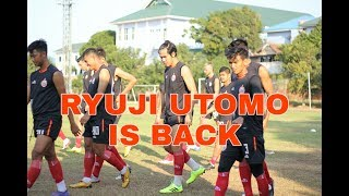 Persija Jakarta Menggelar Latihan